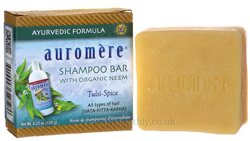 Auromere Shampoo Bar with Organic Neem
