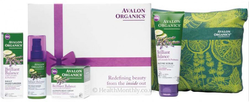 Avalon Organics® Brilliant Balance Gift Set