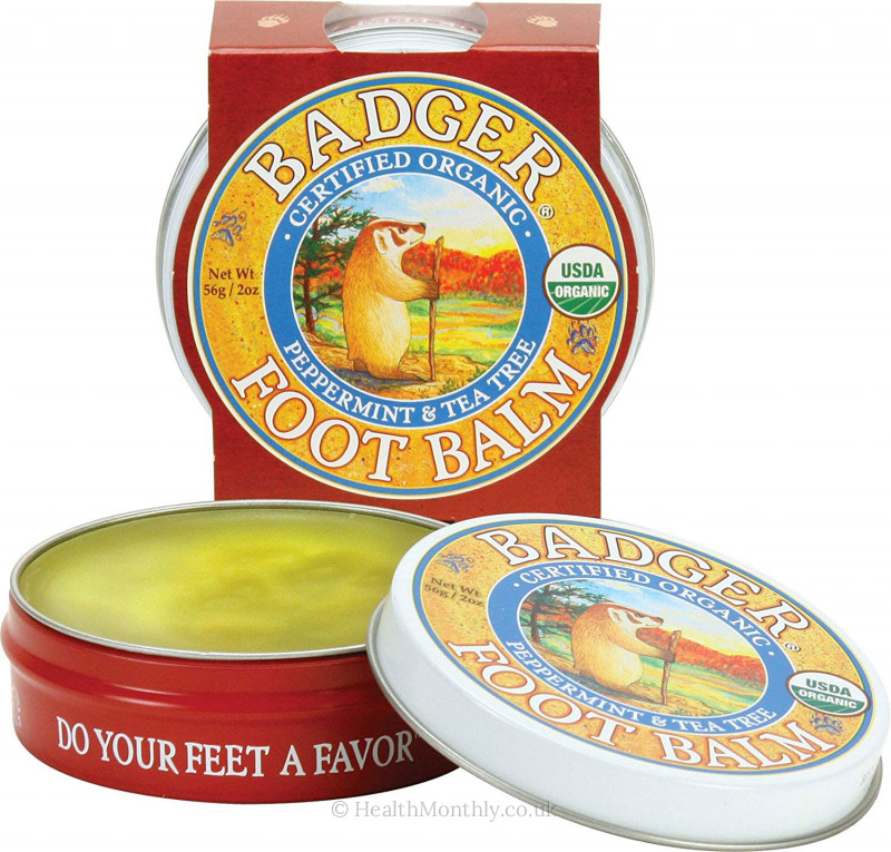 Badger Organic Foot Balm