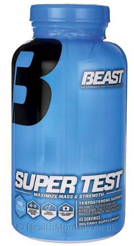 Beast Sports Nutrition Super Test Testosterone Support