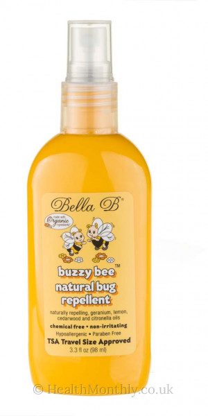 Bella B Buzzy Bee Natural Bug Repellent