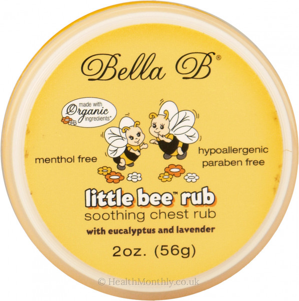 Bella B Little Bee Soothing Chest Rub