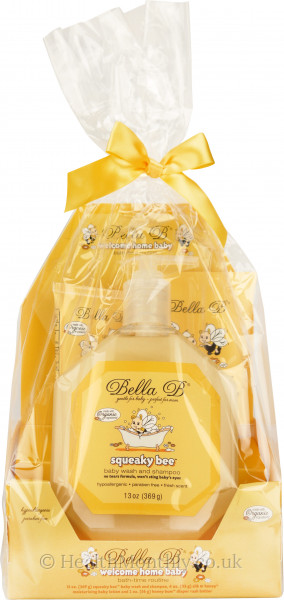 Bella B Welcome Home Baby Bath-Time Gift Set