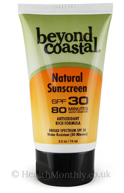 Beyond Coastal Mineral Based Sunscreen Broad Spectrum SPF30