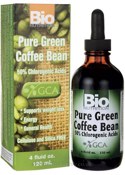 Bio Nutrition Green Coffee Bean Liquid