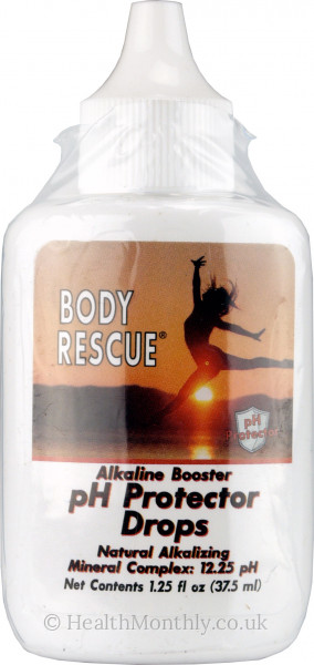 Body Rescue Alkaline Booster PH Protector Drops