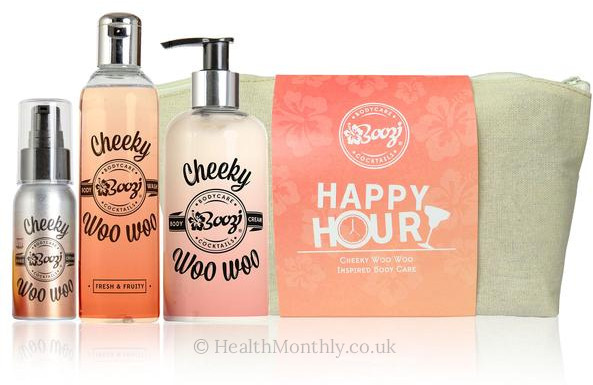 Boozi Body Care Cheeky Woo Woo Happy Hour Wash Bag