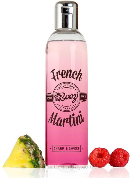 Boozi Body Care French Martini Body Wash