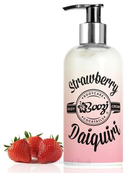 Boozi Body Care Strawberry Daiquiri Body Cream