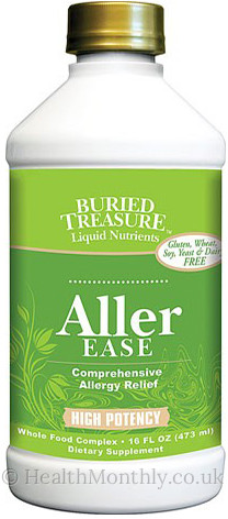 Buried Treasure High Potency Aller Ease Allergy Relief