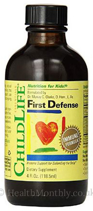 Childlife Essentials First Defense Immune Formula