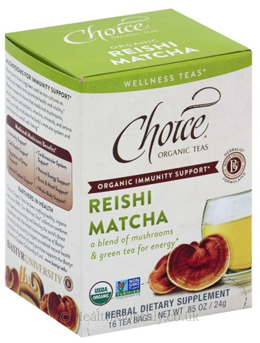 Choice Organic Teas Reishi Matcha Tea