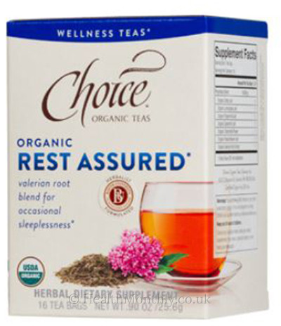 Choice Organic Teas Rest Assured Valerian Root Blend