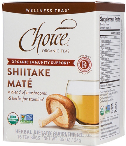 Choice Organic Teas Shiitake Mate Tea