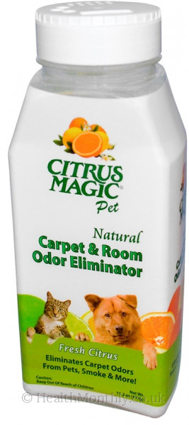 Citrus Magic Natural Carpet & Room Odor Eliminator