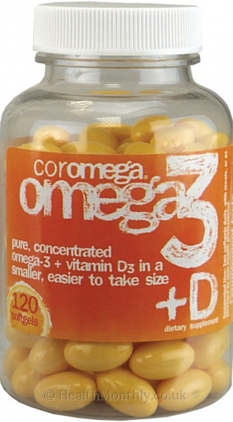 Coromega Omega 3 with Vitamin D