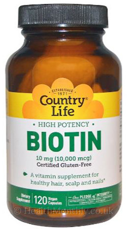 Country Life High Potency Biotin 10 mg