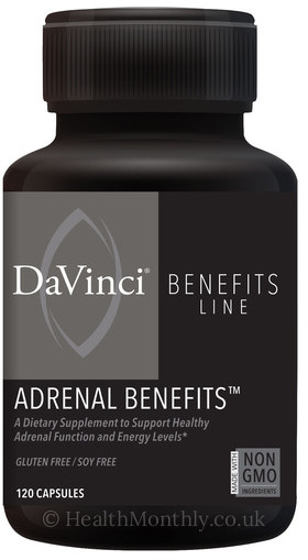 Davinci Laboratories Adrenal Benefits