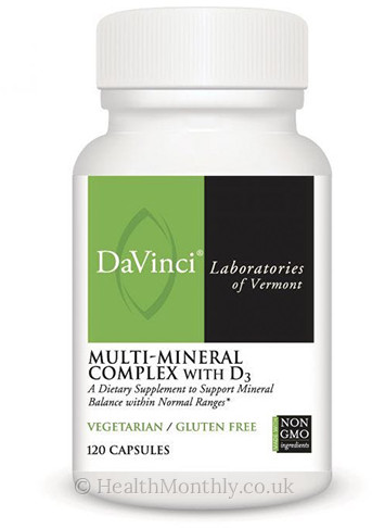 DaVinci Laboratories Multi Mineral Complex With D3