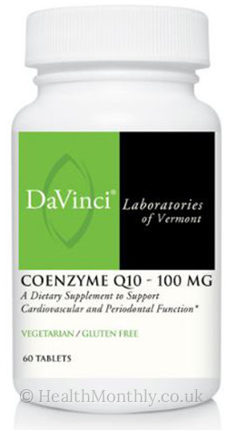 DaVinci Laboratories of Vermont Coenzyme Q10