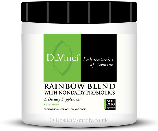 Davinci Laboratories Rainbow Blend with NonDairy Probiotics