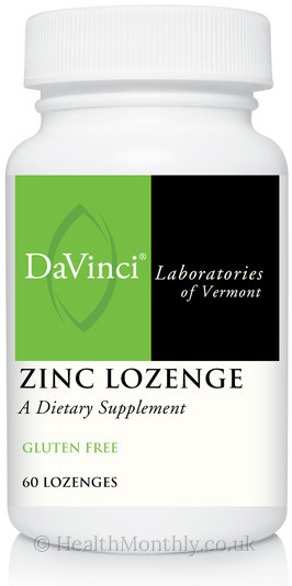 Davinci Laboratories Zinc Lozenge