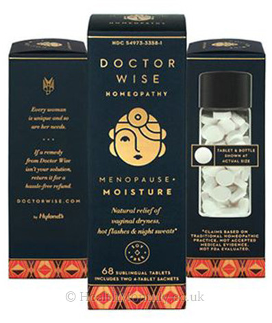 Doctor Wise Homeopathy Menopause + Moisture