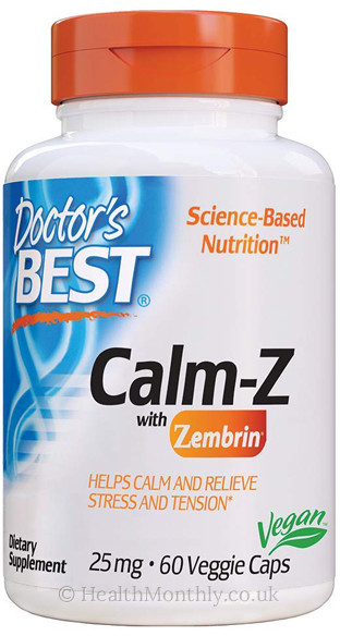 Doctor's Best Calm with Zembrin
