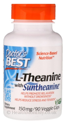 Doctor's Best Suntheanine L-Theanine