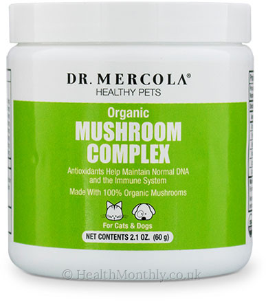 Dr. Mercola Healthy Pets, Organic Mushroom Complex for Cats & Dogs