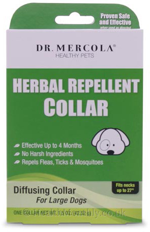 Dr. Mercola Healthy Pets, Herbal Repellent Collar for Large Dogs