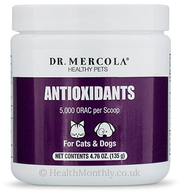 Dr. Mercola Healthy Pets, Antioxidants for Cats & Dogs