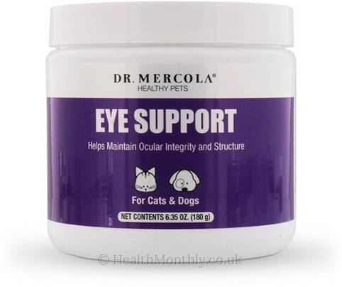 Dr. Mercola Healthy Pets Eye Support for Cats & Dogs