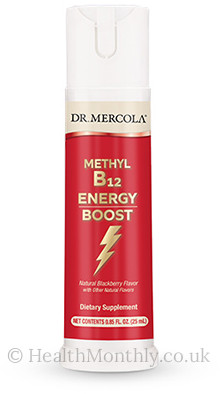 Dr. Mercola Methyl B12 Energy Boost