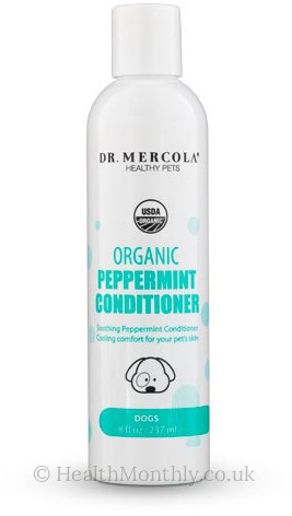 Dr. Mercola Healthy Pets, Organic Peppermint Conditioner for Dogs