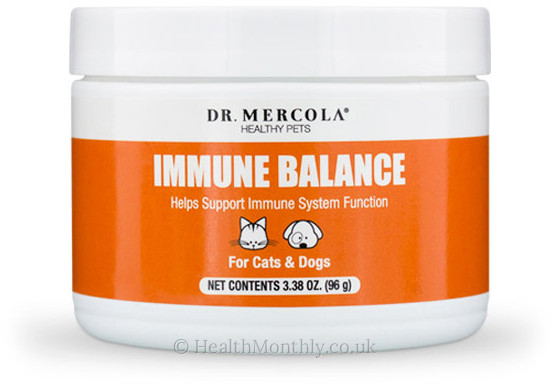 Dr. Mercola Healthy Pets, Immune Balance for Cats & Dogs