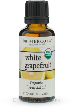 Dr. Mercola Healthy Home, Organic White Grapefruit Essential Oil