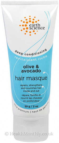 Earth Science Olive and Avocado Hair Masque