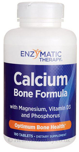 Enzymatic Therapy Calcium Bone Formula