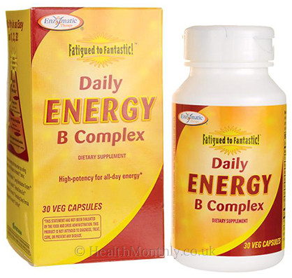 Enzymatic Therapy Fatigued to Fantastic Daily Energy B Complex