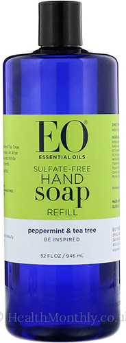 EO Essentials Hand Soap Peppermint & Tea Tree Refill