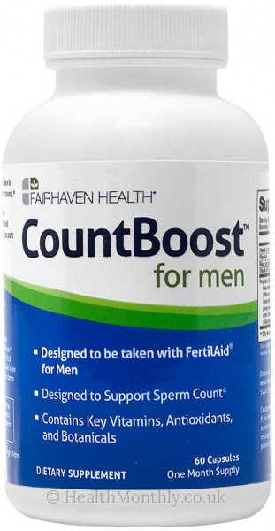 Fairhaven Health CountBoost™ for Men, Sperm Count Supplement