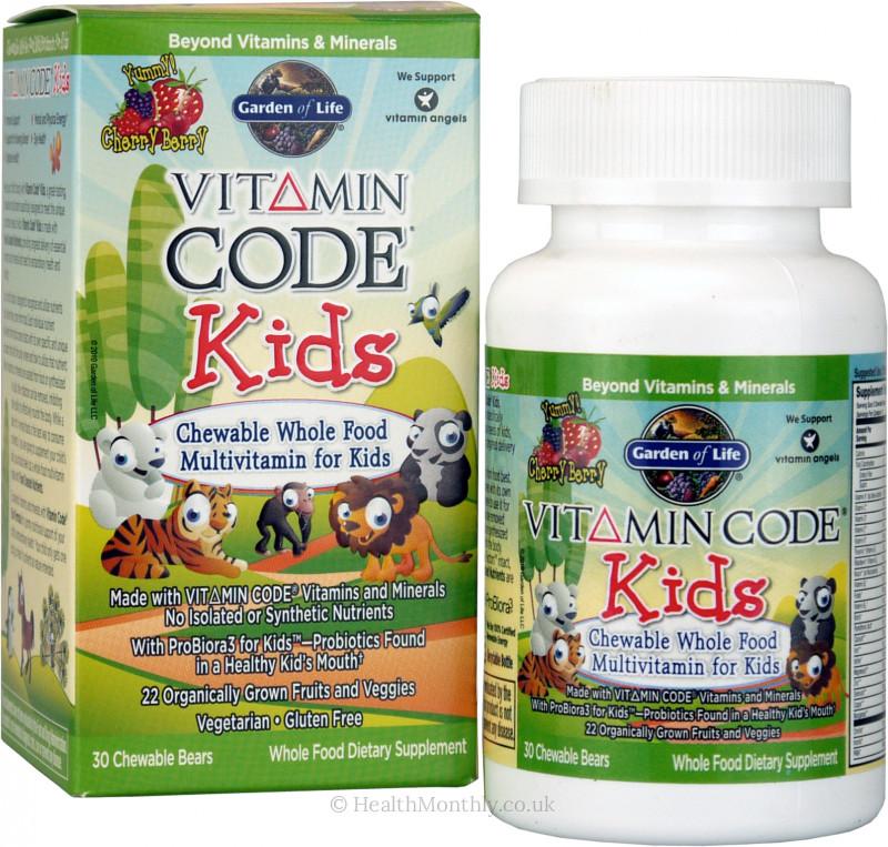 Garden Of Life Vitamin Code Kids 10 24