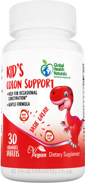 Global Health Naturals Kid's Colon Support