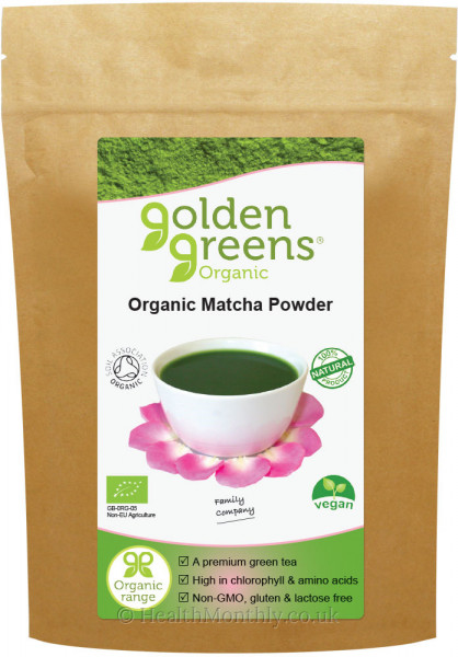 Golden Greens Organic Matcha Tea