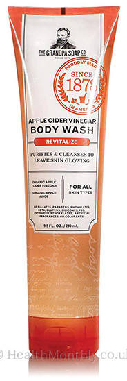 Grandpa's Apple Cider Vinegar Body Wash, Revitalise, Purifies & Cleanses for Skin Glowing