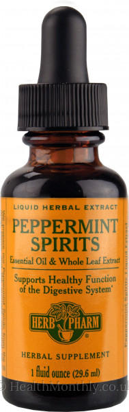 Herb Pharm Peppermint Spirits Liquid Extract
