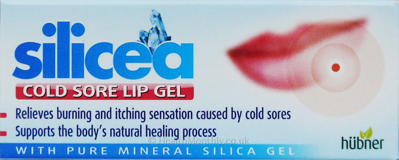 Hubner Original Silicea Cold Sore Lip Gel