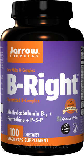 Jarrow B-Right Optimised B-Complex