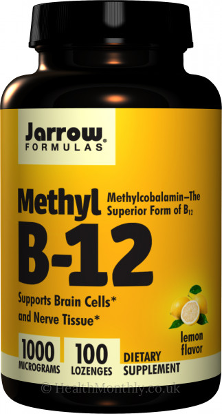 Jarrow Methylcobalamin B12